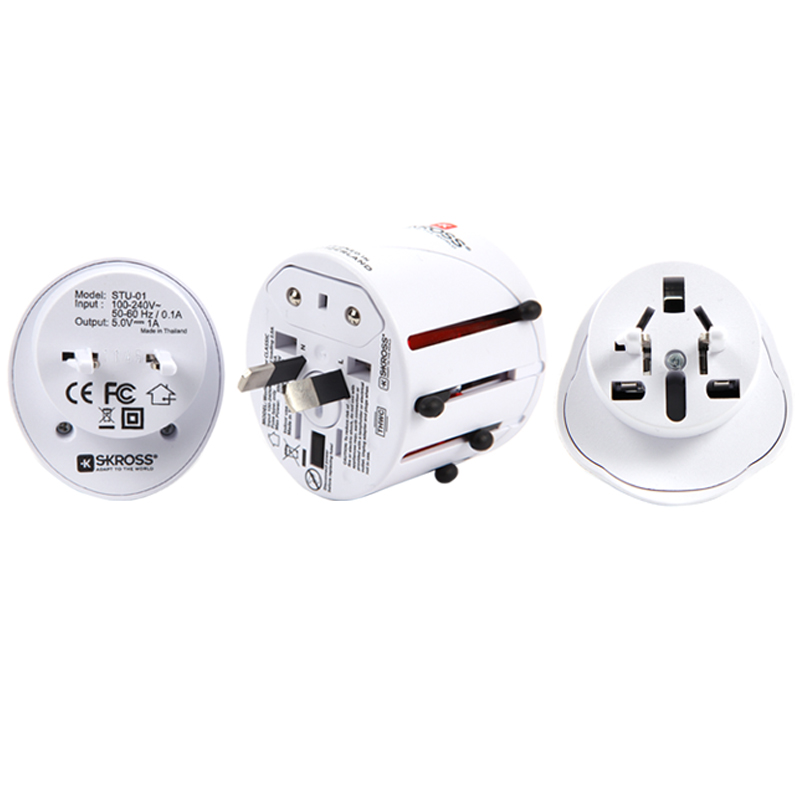 SKROSS Travel adapter Classic with USB