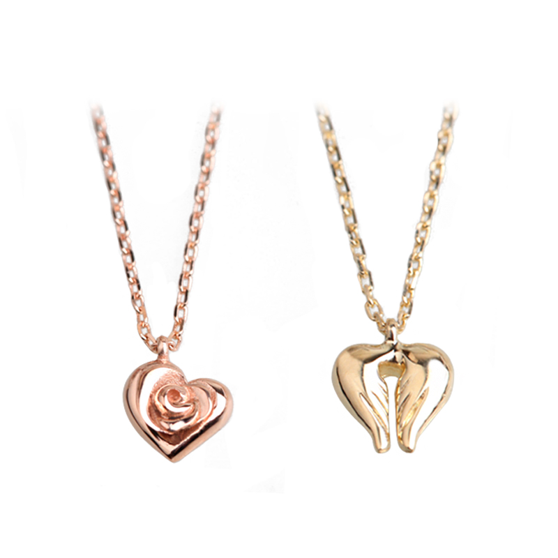 sistersister 'Heartwing & Roseheart' 14k Gold