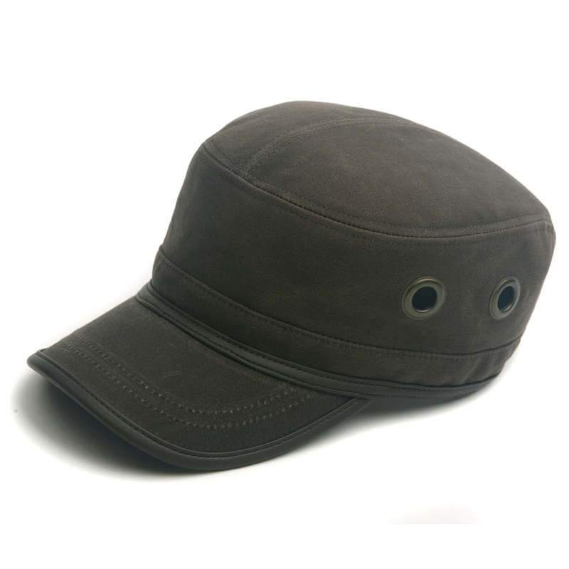 Military Reskam Oil Waxed Cap