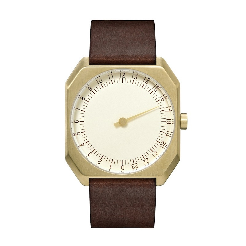 [slow watches] slow JO - Gold & Dark Brown