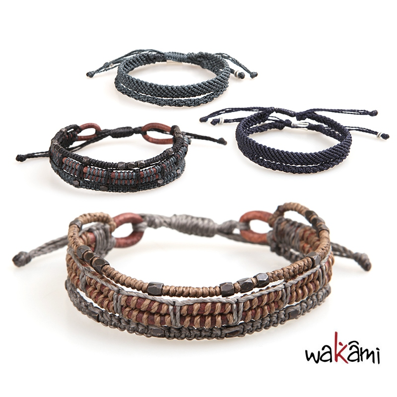 Wakami Leather Braclet