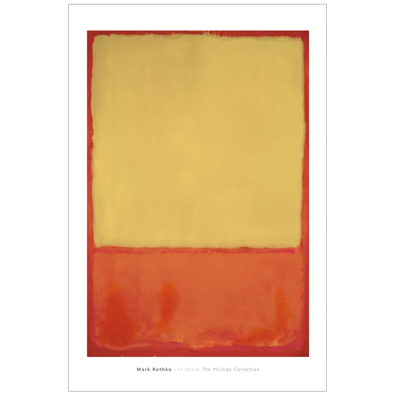 마크 로스코 - The Ochre (Ochre, Red on Red), 1954