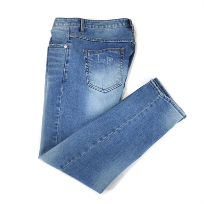 [SLOWEEKEND] Natural Washed Straight Jeans
