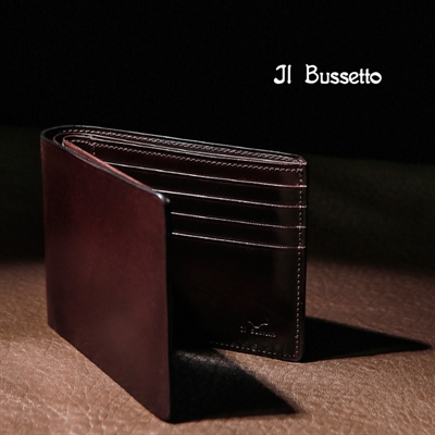 [Il Bussetto] BIFOLD LEATHER WALLET