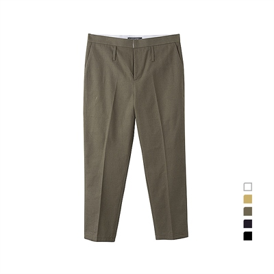 [THISTHATW] COMPACT COTTON PANTS