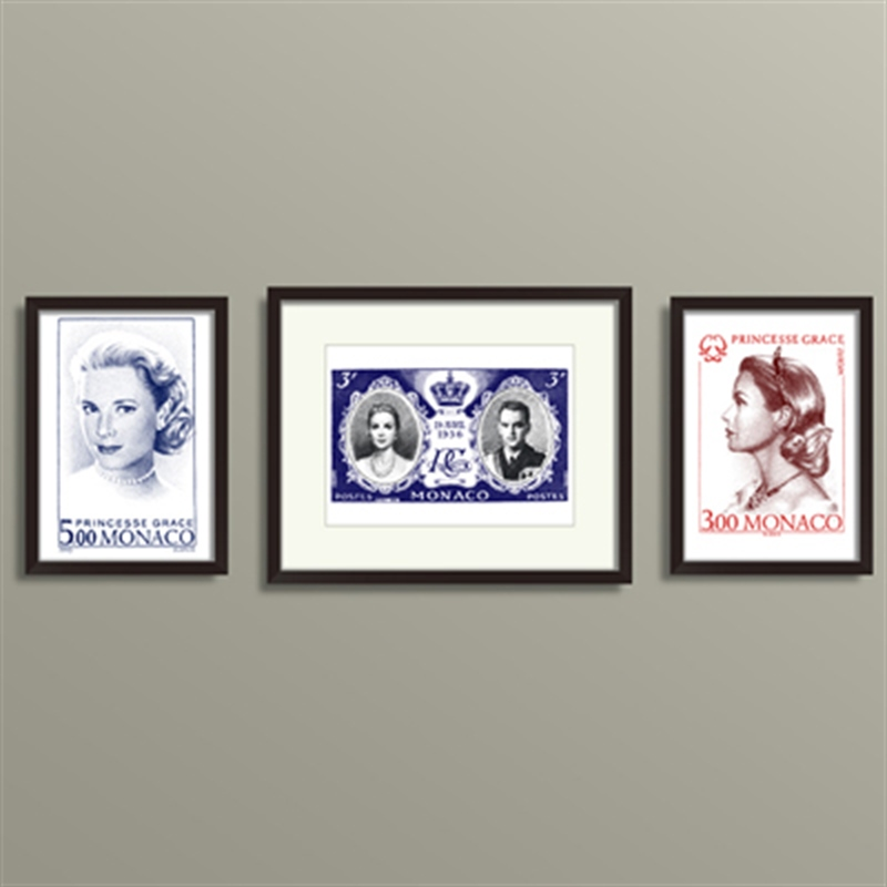Grace kelly Monaco Stamp SET