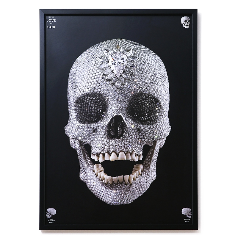 damien hirst - For the Love of God (아트 포스터)