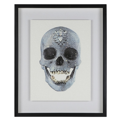 damien hirst - For the Love of God [DIAMOND DUST]