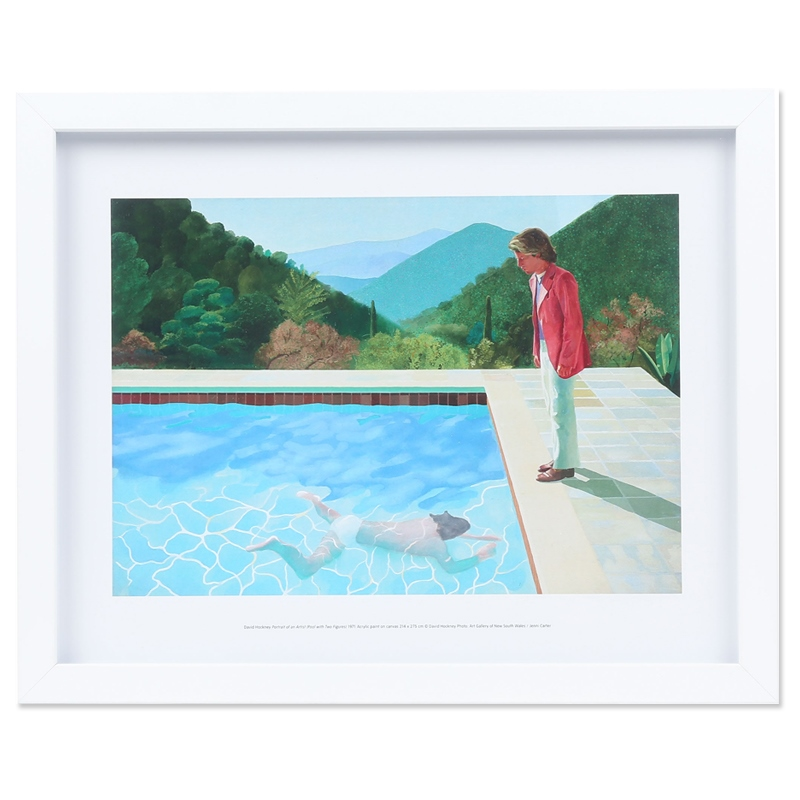 David Hockney - Mini Print