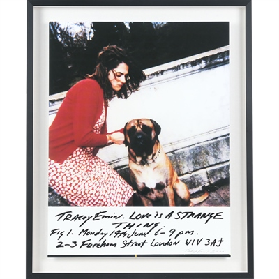 Tracey Emin - Love is a Strange Thing 2000