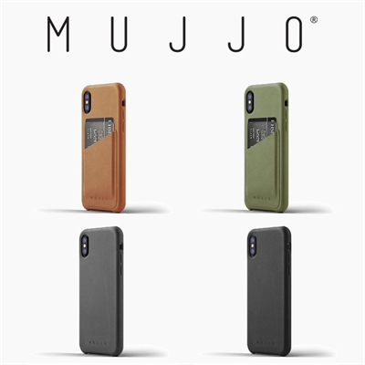 MUJJO iPhone X Leather Case