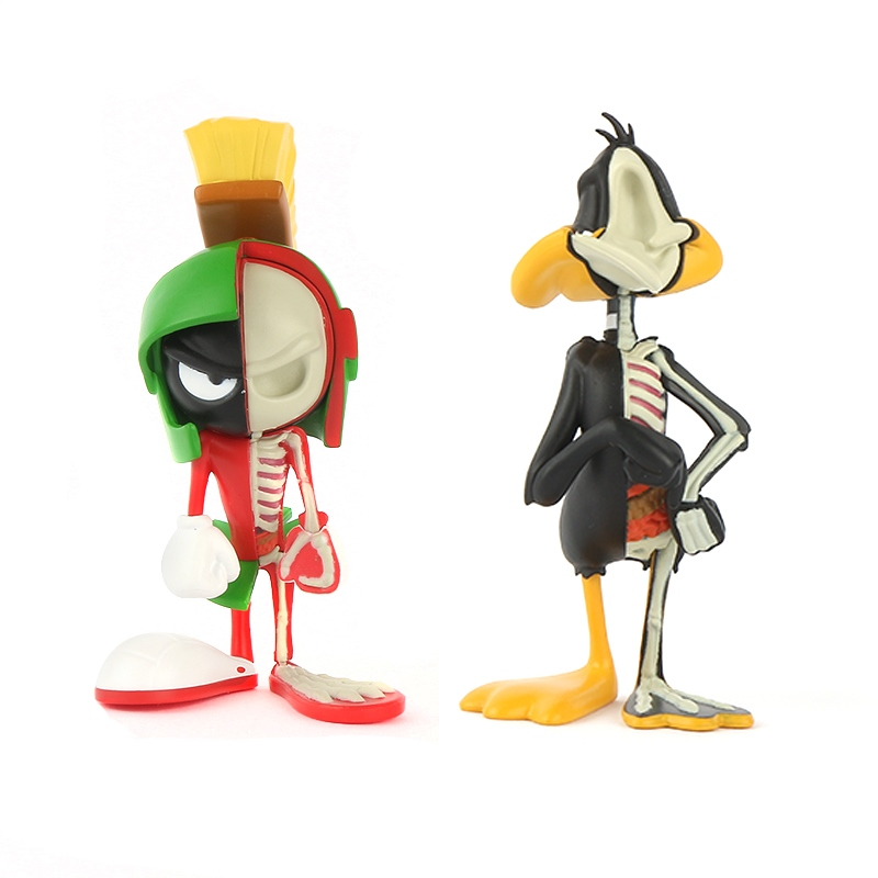XXRAY Looney Tunes Marvin the Martian & Daffy Duck