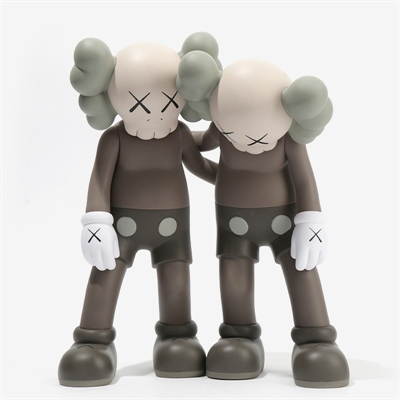 Along The Way Brown by Kaws