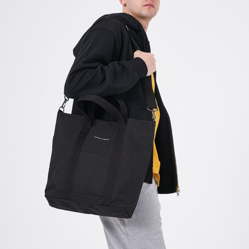 MODESTO CV CANVAS TOTE_BLACK