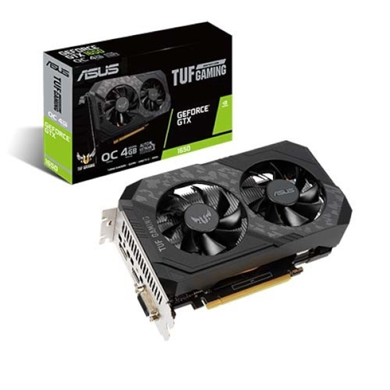 ASUS GeForce GTX 1650 DUAL 4G D5 4GB