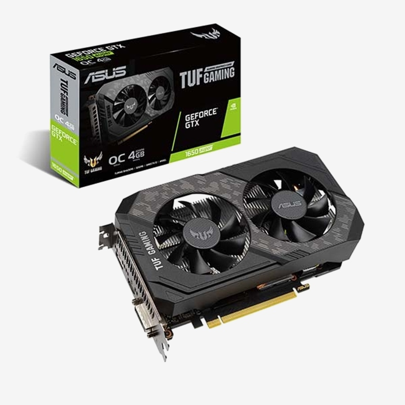 ASUS GeForce GTX 1650 SUPER TUF Gaming O4G D6 4GB