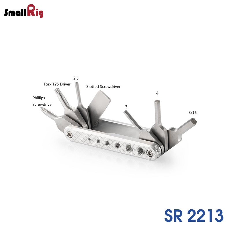 SmallRig Folding Tool Set with Screwdrivers and Wrenches 2213 / SR2213