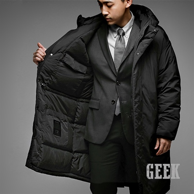 8aabf8d4002 Geektailor 덕다운 100% 롱패딩 - New Lifestyle Store, FUNSHOP
